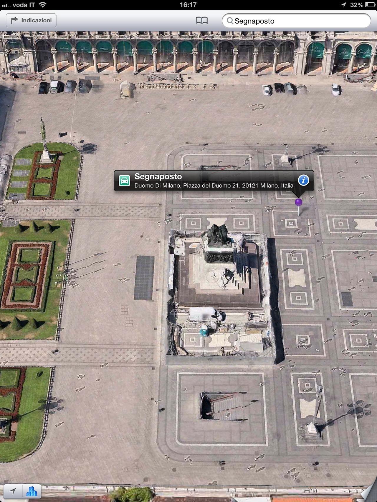 """""""Il Duomo di Milano"""" the most important square in Milan, italy,  was bombard ….."""