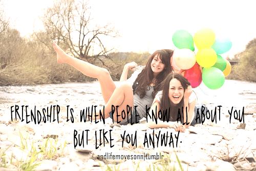 Friend Best Quotes Teen Girls