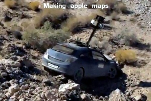 apple maps troll