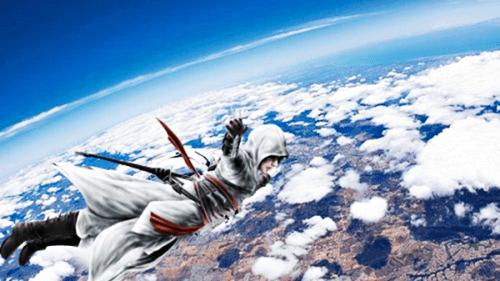 assassin's creed altaïr ibn-la'ahad felix baumgartner Leap ...