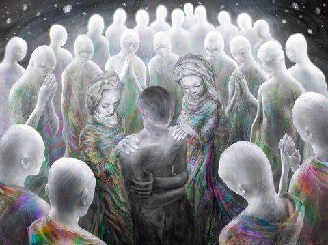 Resultado de imagem para seres espirituais