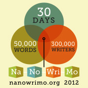 I am thinking about National Novel Writing Month<br />From the organizers at NaNoBoston.org (A NaNoWriMo group formed in Boston):  Our next official event is the very first write-in on Thursday, November 1st from 6:30-8:30 pm. This write-in will be held at the Boston Public Library. Unlike the Meet and Greet, we'll be on the mezzanine level of the Johnson building in the Mezzanine Conference Room. The second official write-in will be held at the Cambridge Public Library in the Community Room on the lower level. This is on Sunday, November 4th from 2:00-4:00 pm. For more detailed information about any of our upcoming events or any of the satellite events put on by other Boston Wrimos, check out our online calendar located above our regional forums here: www.nanowrimo.org/en/regions/usa-massachusetts-boston  The 24 Hour Write-In on November 17th to take place in the Greater Boston area: www.nanowrimo.org/en/forums/usa-massachusetts-boston/threads/73701