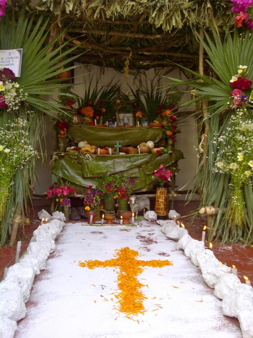 De Materiales Para Altar Muertos