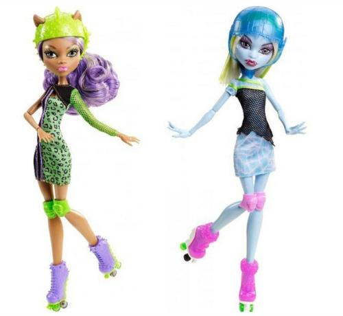 New Skulltimate Roller Maze pic, possible new pack? Is abbey going to be selled alone? Im very excited about clawdeen ^^