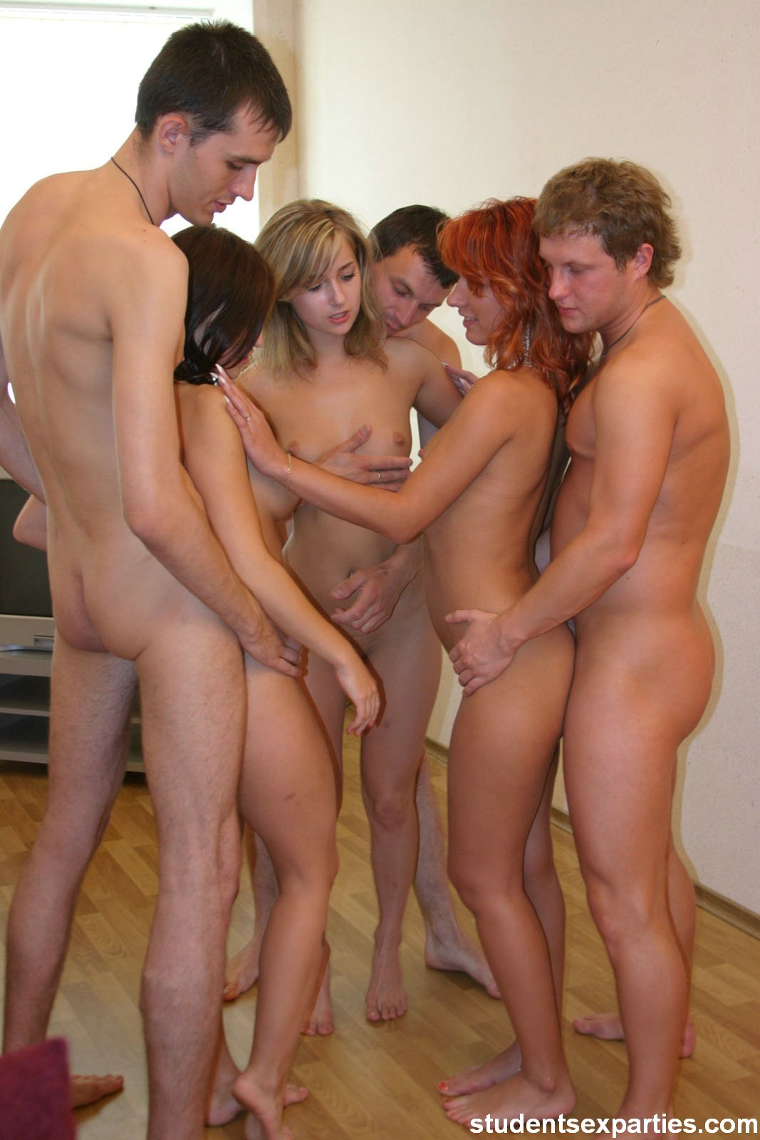 Homemade orgy student party 2