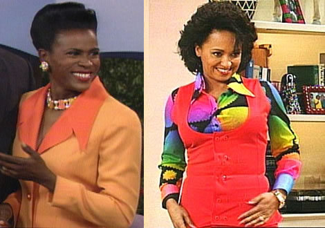 "blackmanonthemoon:  butimnotrealimtheatre:  faithofan-angel:  youngblackandvegan:  theuppitynegras:  howtobeterrell:  grasstomyknees:  Worst re-cast in the history of ever: Aunt Viv (Fresh Prince of Bel-Air) Did they think we wouldn't notice, though? Seriously.   no  do they know how fucking confused I was being 4 trying figure this shit out. At first I thought Uncle Phil divorced Aunt Viv and married a woman with the same name. Then I thought pregnancy made you lighter. that fucked me up  my mom stopped watching fresh prince because of this. she was upset at the casting and said ""they replaced a beautiful talented dark skinned woman with something bland"" my light skinned mother was not impressed  This still bothers me.   Janet Hubert shouldn't have gotten herself fired then! Will Smith and Alfonso Ribero have both said it was her own fault.  she was fired for hating on will not for being dark skinned  Just being a dark-skinned black female can be considered causing ""beef"". Her very existence inspiring unparallelled scorn and resentment. This disdain seems heightened if she is not silent in response to her mistreatment.  Given the track record of black people in relation to colorism (a product of Racism/White Supremacy), you'll have to excuse me if I maintain a sizeable amount of skepticism on what her black male co-workers stated was the reason for her being fired.  A similar recasting happened on another black sitcom starring Damon Wayons. The curious casting choices of two non-white females who in real life have a white parent on The Cosby Show.  So it's okay for Cosby's ""son"" to be very dark-skinned but none of his ""daughters""?  Not to mention the recent casting choices of real-life black female icons such as Harriet Tubman and Nina Simone.  Or the almost complete absence of black females in over-hyped biopics like Red Tails (in real life black females served overseas alongside these black males and were partnered with them as well).  It's important to notice patterns under the system of Racism (White Supremacy); a system based on the mistreatment of non-white people on the basis of color or factors related to color.  Braintrashed from birth, non-white people often join in on the mistreatment of each other.  Only an honest assessment of this tendency can help us undermine the ""programming"" and ultimately, the system itself.  For me, the drastic change on this particular series is what we can come to expect under a system of Racism (White Supremacy).  Even at a confused state, I stopped watching it around this time as well.  I am also not surprised at some black people's insistence that it was her fault.  That, too, is something I've come to expect.  The black female's pain and mistreatment is largely invisible."
