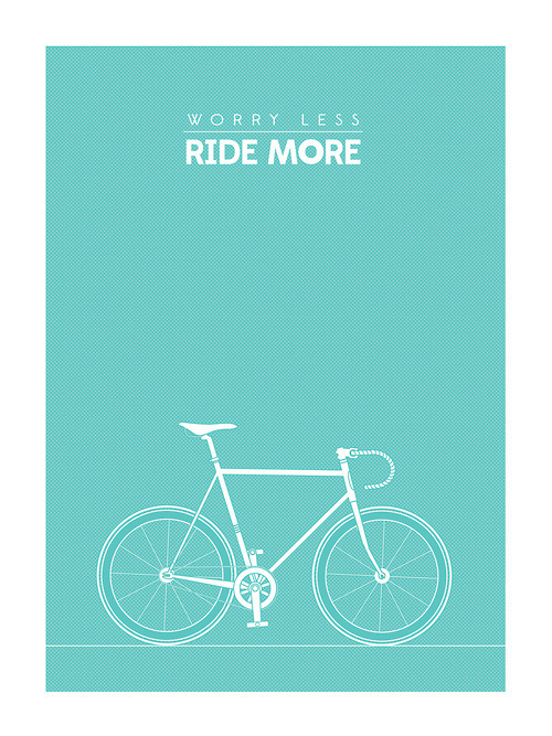 simplifyyourlife:Worry less. Ride more.