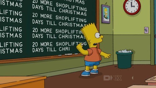 20 More Shoplifting Days Till Christmas