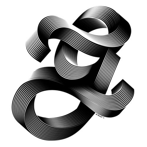 "Typeverything.com -""G"" for the Simpl3 Tigografica exhibition by Alex Trochut."