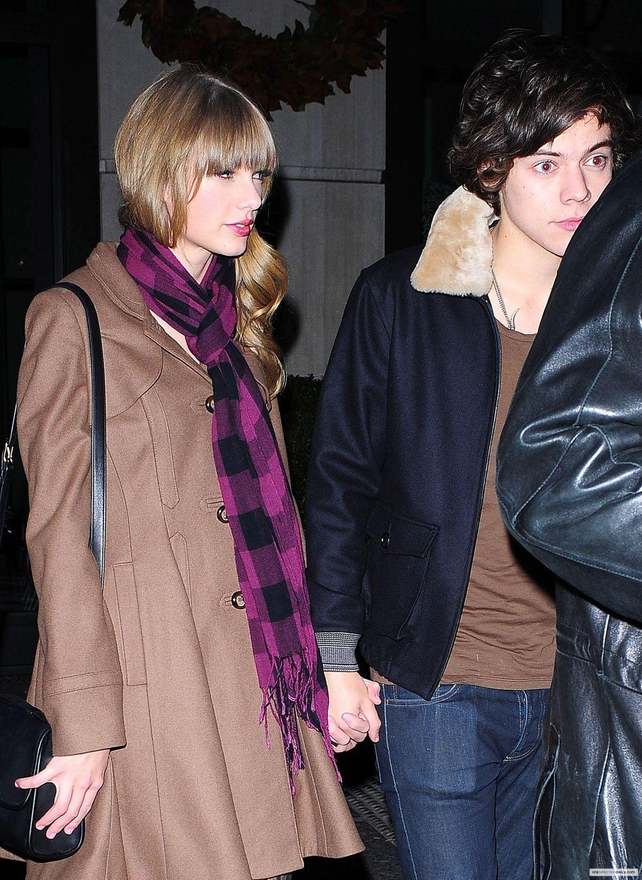 Wann hat Harry Stile und Taylor schnelle erste Stardatierung Umgang mit Ex-Freundin Dating