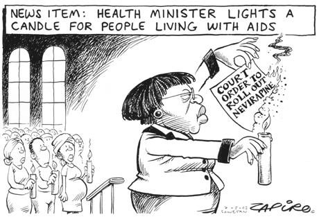 2001 - Civil Socity fights for TAC Case implementation - ZAPIRO OSF-SA 25 years in South Africa