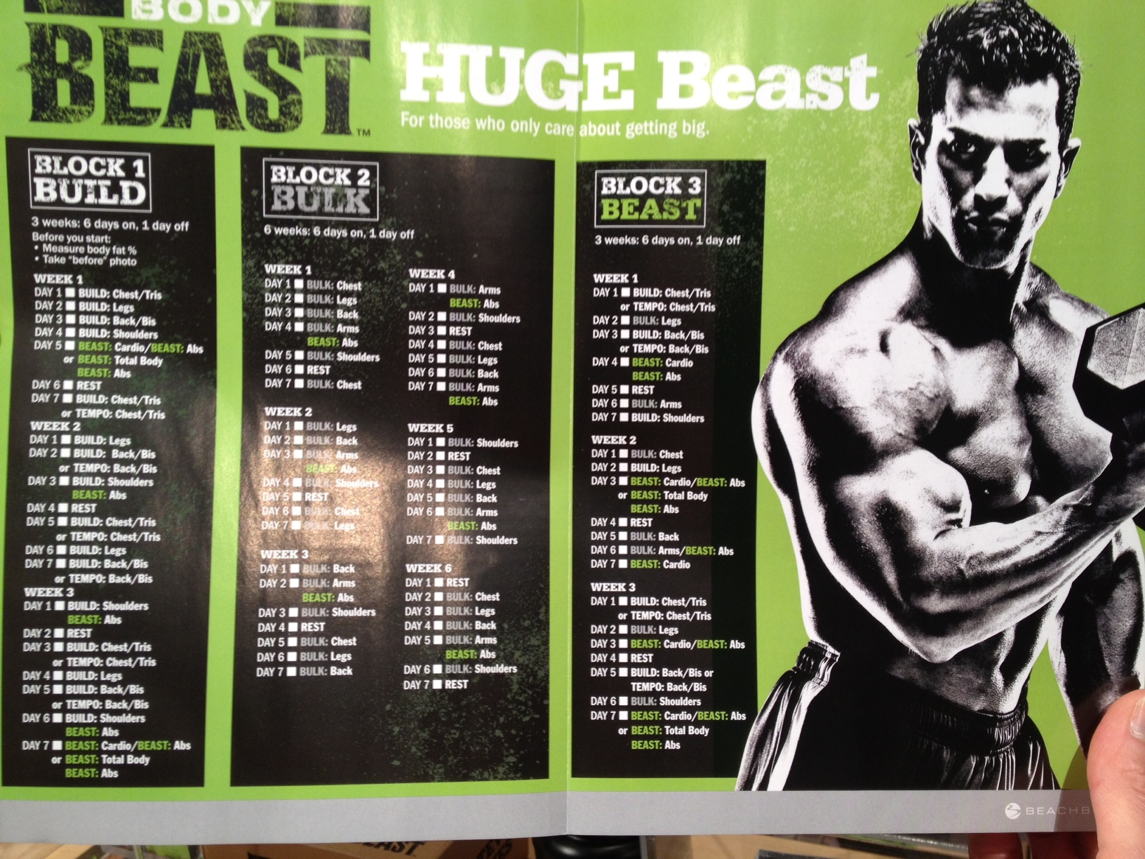 Add Muscle With The New Body Beast Workout