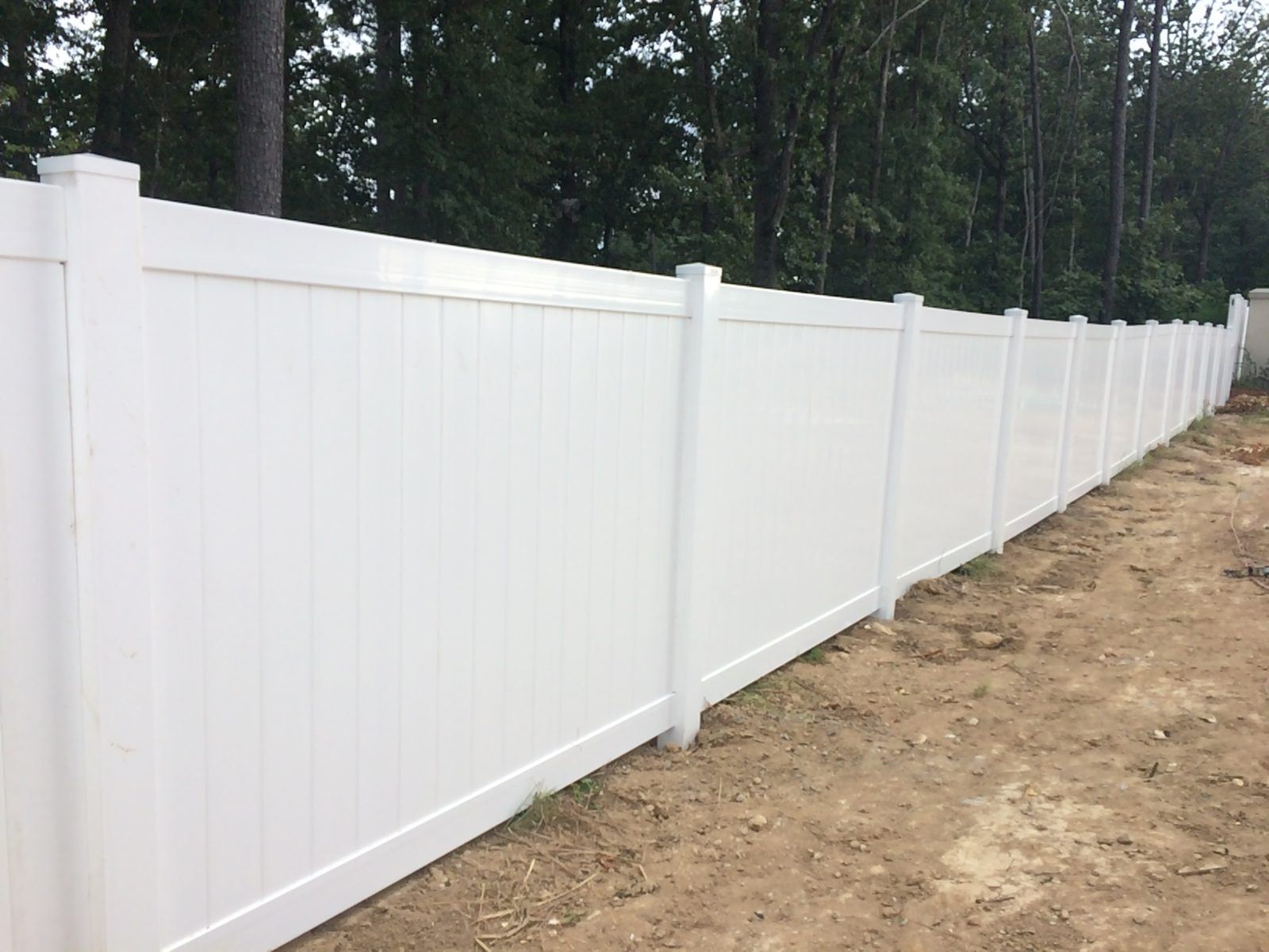 Vinyl Fences Residential Fence McDonough Fence Company