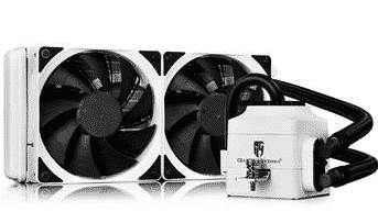 DeepCool-captain-240EX-White-Heatsink