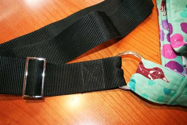 You Sew, Girl! | Large Tote 01 - gorgeous shiny hardware