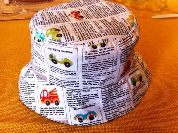 Sun hat for Austin 02