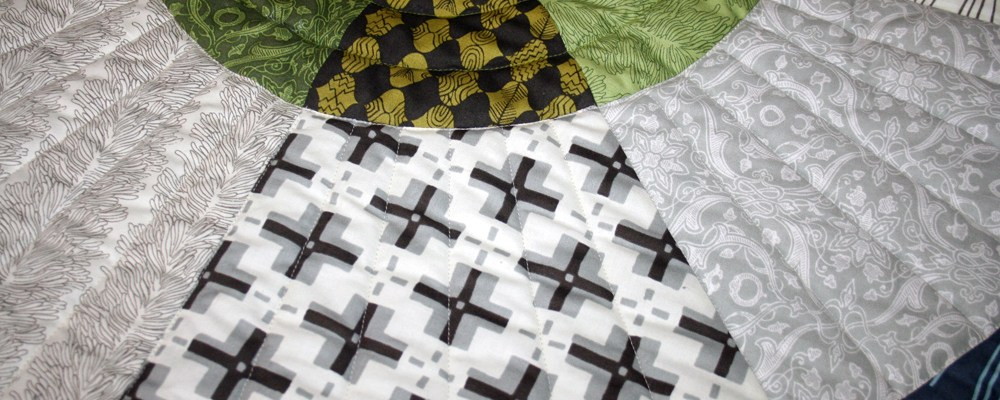 Curious Nature Quilt for Moshe – finished!