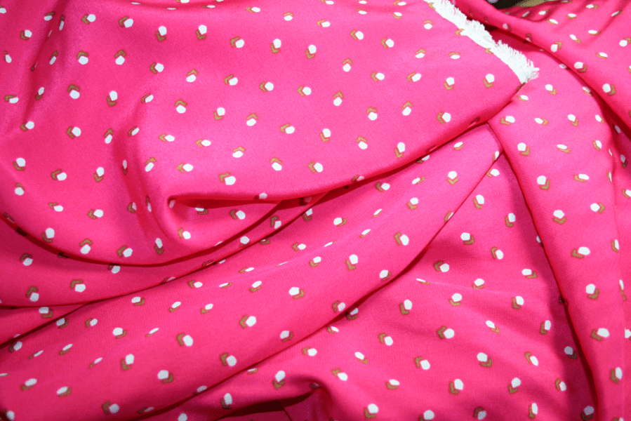 Watermelon crepe de chine