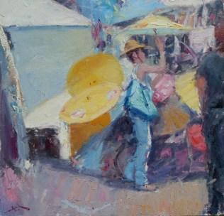 Umbrellas 23x24