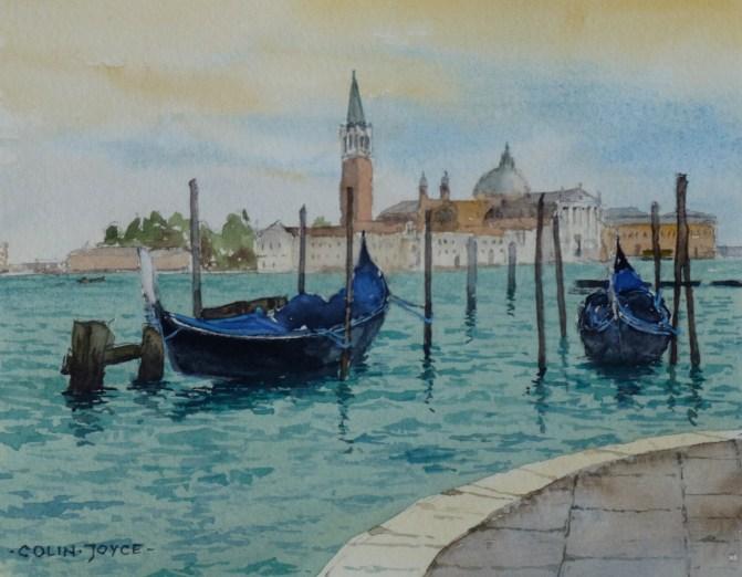 Gondolas_SanGiorgio_Maggiore_Venice_Italy