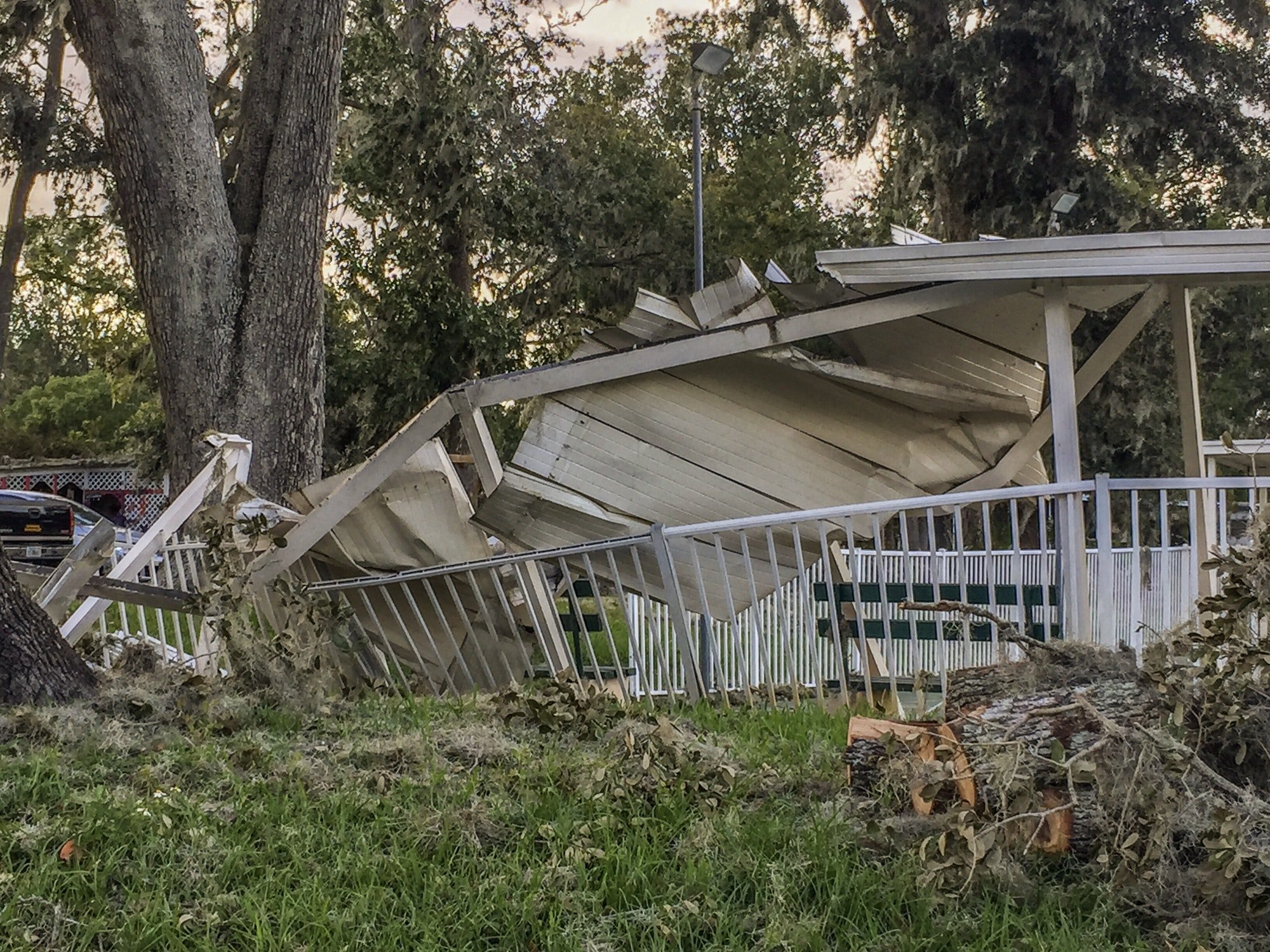 Mobile home after Hurricane Matthew!