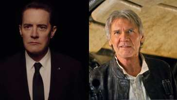 Agent Cooper and Han Solo