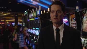 Dale Cooper at the silver mustang casino