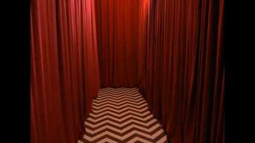 the red room corridor from twin peaks