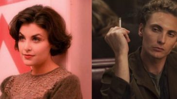 Audrey and Richard Horne smoking