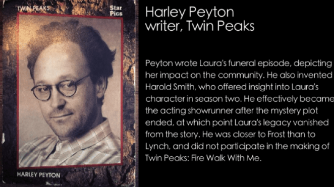 Harley Peyton Star Card