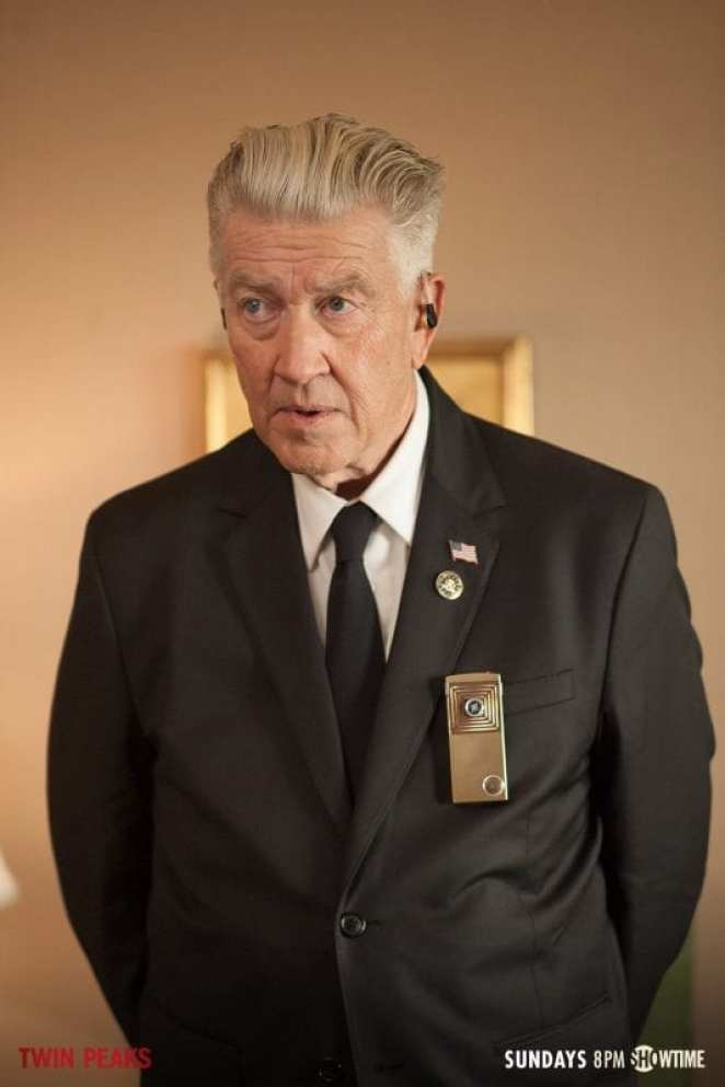 Gordon Cole played by David Lynch