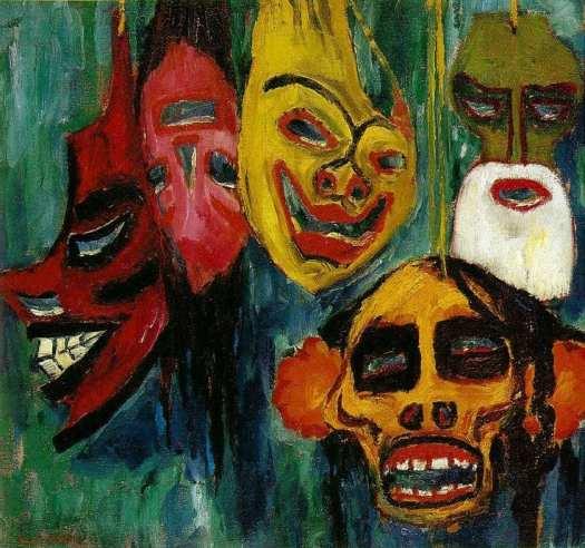 Mask Still Life III (Nolde)