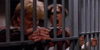 Bobby and Mike bark like dogs in the cell