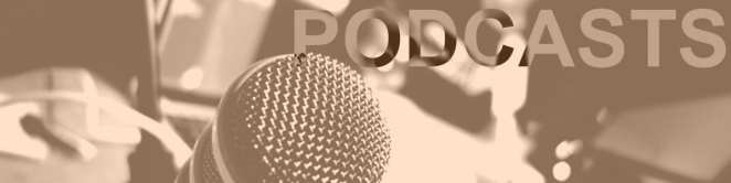 Podcasts banner