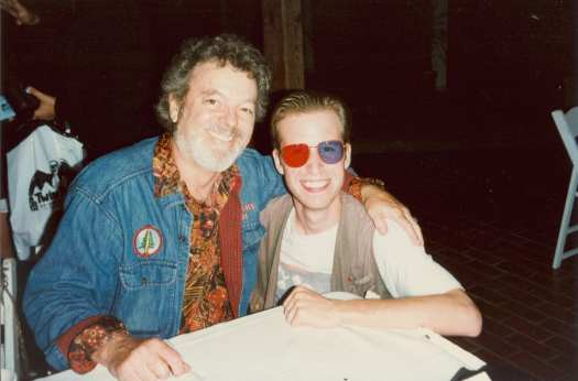 With Russ in 1996