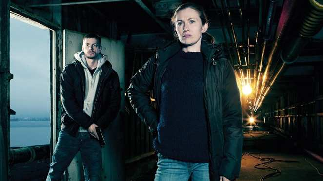 Linden and Holder in the first season of The Killing