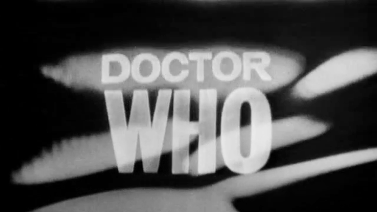 Doctor WHO title screen 1963