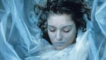 Laura Palmer wrapped in plastic
