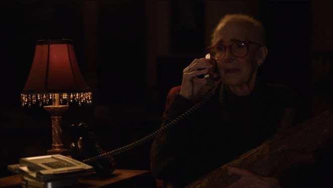 Margaret speaks to Hawk on the phone