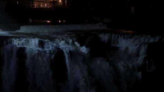Twin Peaks Room Hole Wall