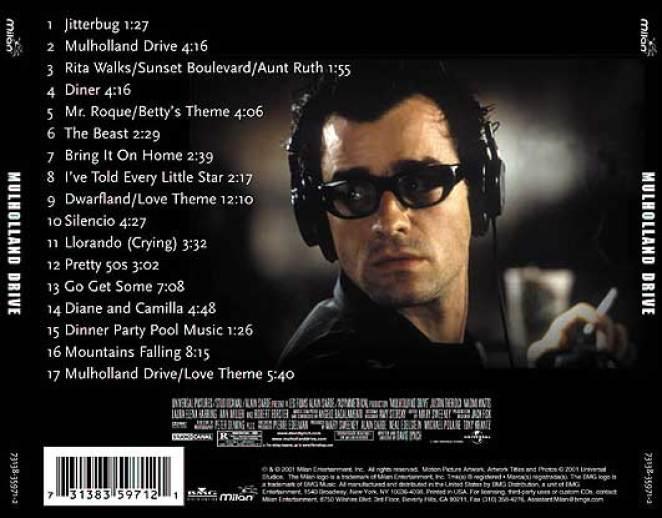Mulholland drive soundtrack