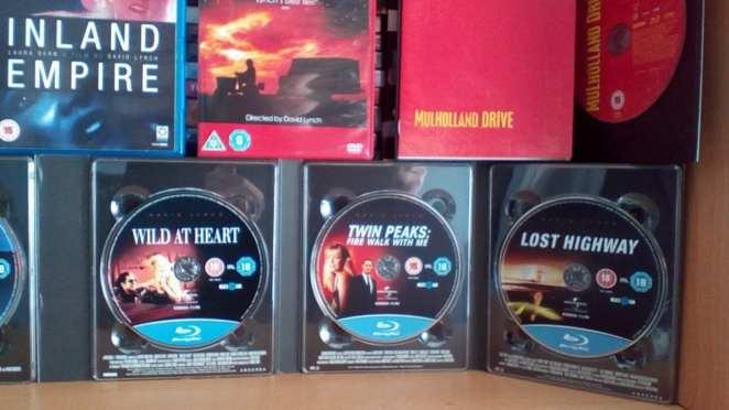 David Lynch Box set discs