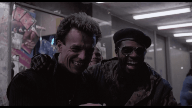 Ray Wise in Robocop laughing