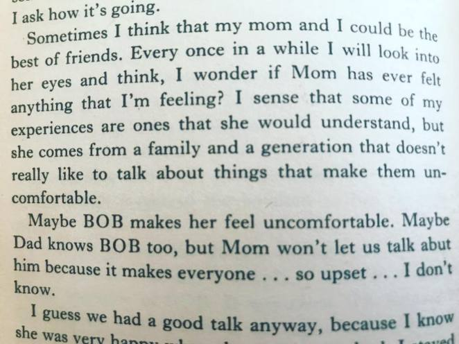 Laura Palmer diary extract telling that :Laura believed her mother knew about Bob
