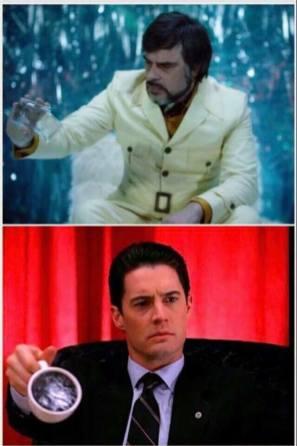 Similarities between Legion and Twin Peaks