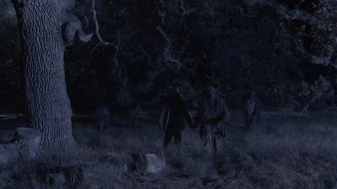 Woodsmen appear from the trees, twin peaks part 8