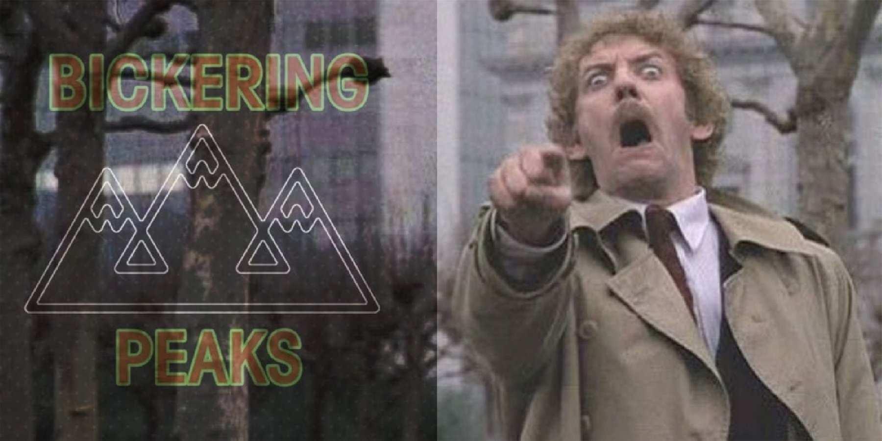 Bickering Peaks and Donald Sutherland