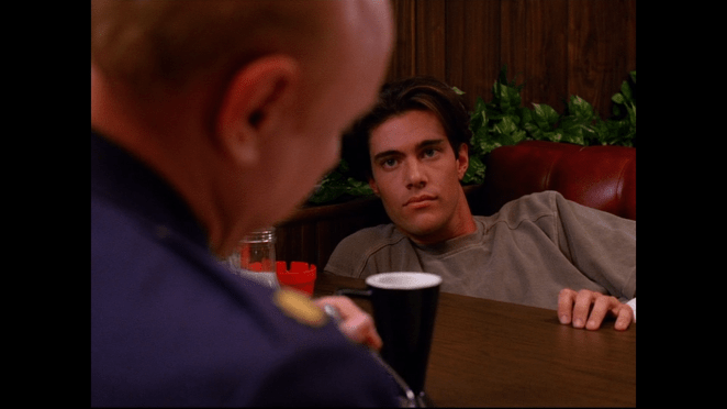 Dana Ashbrook as Bobby Briggs in Twin Peaks