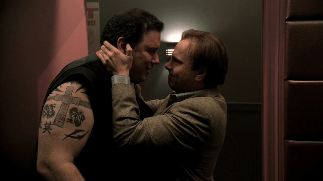 "Georgie and Ralphie from Season 3' of The Sopranos, ""University"""