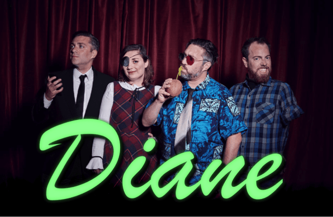 Diane podcast crew